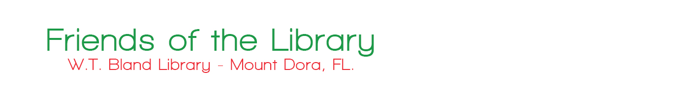 Friends of the Library Mount Dora